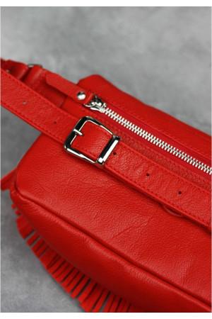 Поясна сумка «Спіріт» червоного кольору