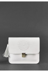 Сумка «Лилу» белого цвета