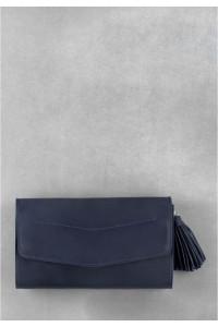 Сумка «Элис» синего цвета