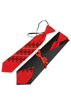 Дитяча краватка «Ярослав» з вишивкою