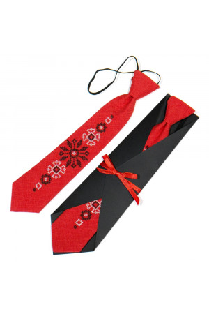 Дитяча краватка «Світозар» з вишивкою