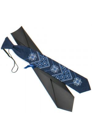 Подростковый галстук «Златодан» синего цвета