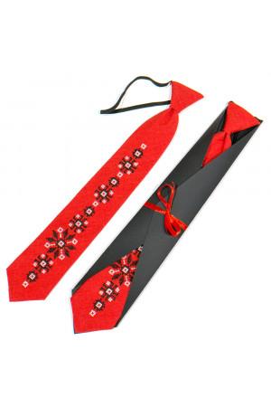 Подростковый галстук «Силолюб» с вышивкой