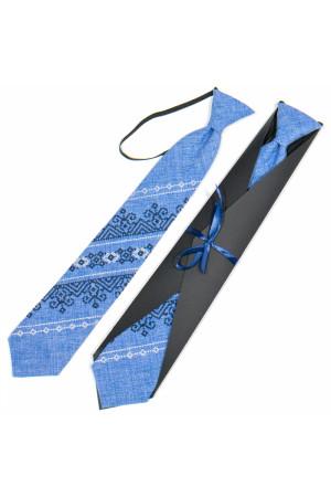 Підліткова краватка «Микита» з вишивкою