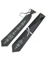 Підліткова краватка «Рудан» з вишивкою