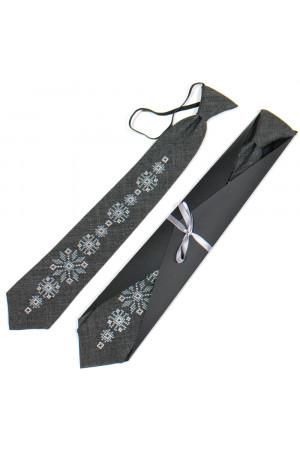 Подростковый галстук «Рудан» с вышивкой