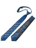 Підліткова краватка «Квітан» синього кольору