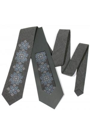 Вышитый галстук «Алексей»