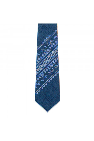 Вышитый галстук «Оверкий»
