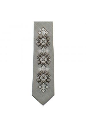 Вышитый галстук «Алфий»