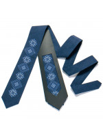 Вышитый галстук «Иван»