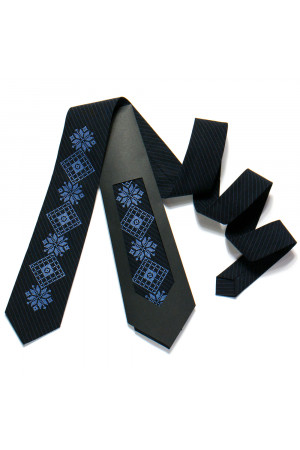 Вышитый галстук «Никифор»