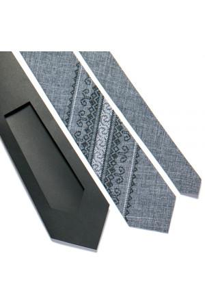 Вышитый галстук «Зиновий»