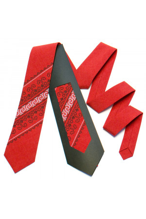 Вышитый галстук «Тадей»