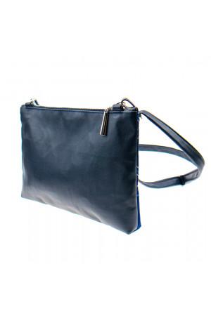 Вишита сумка яскраво-синього кольору «Дзвіночок»