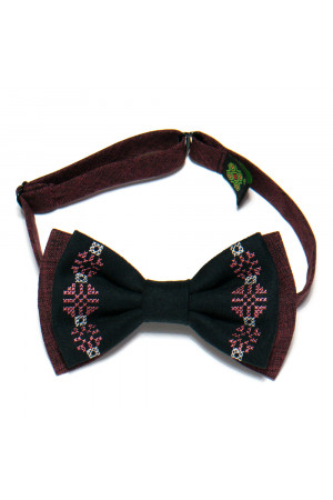 Вышитый галстук-бабочка «Зосим»