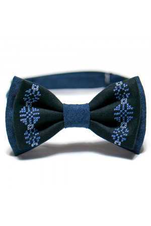 Вышитый галстук-бабочка «Милослав»