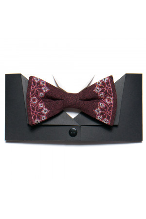 Вишита краватка-метелик «Самійло»