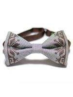 Вышитый галстук-бабочка «Мстислав»