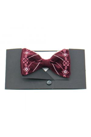 Вишита краватка-метелик «Гераклій»