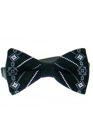 Вышитый галстук-бабочка «Велес»