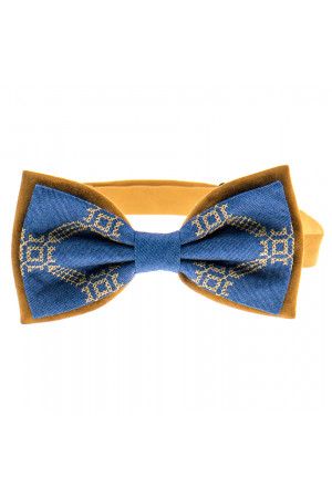 Вишита краватка-метелик «Болеслав»