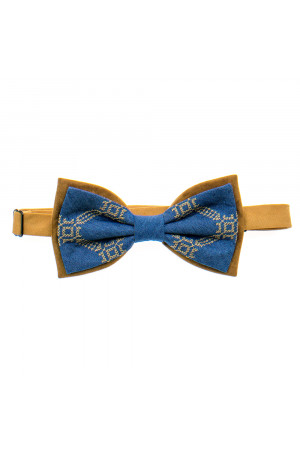 Вышитый галстук-бабочка «Болеслав»