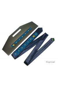 Краватка з вишивкою «Водограй»