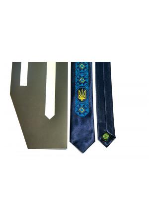 Галстук с вышивкой «Фонтан»