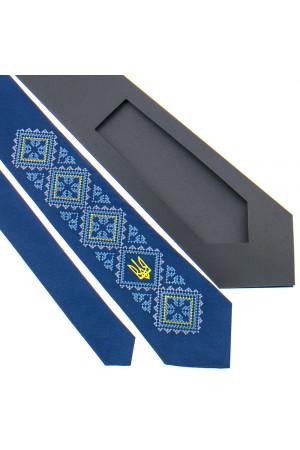 Галстук с вышивкой «Родина»