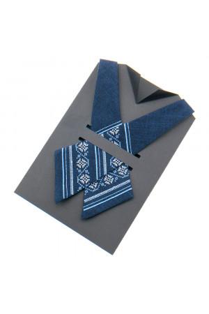 Крос-краватка з вишивкою  «Орнамент»