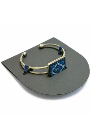 Браслет «Нева» с вышивкой