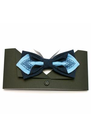 Галстук-бабочка «Голубь»