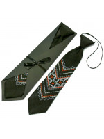 Детский галстук «Назар» с вышивкой