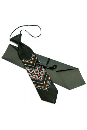 Дитяча краватка «Назар» з вишивкою