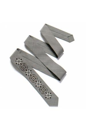 Узкий галстук «Гром»