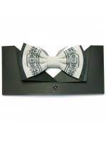 Вишита краватка-метелик «Сірко»