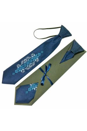 Детский галстук «Волын» с вышивкой
