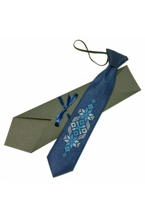 Дитяча краватка «Волин» з вишивкою