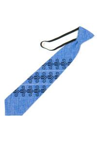 Детский галстук «Збышек» голубого цвета