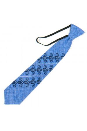 Дитяча краватка «Збишек» блакитного кольору
