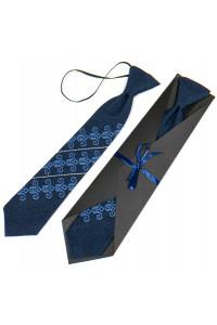 Дитяча краватка «Збишек» темно-синього кольору