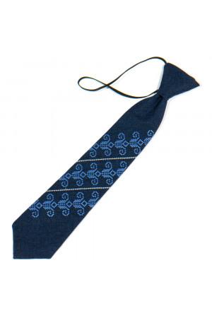 Детский галстук «Збышек» темно-синего цвета