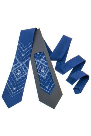 Вышитый галстук с тризубом «Борис»
