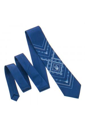 Вишита краватка з тризубом «Борис»