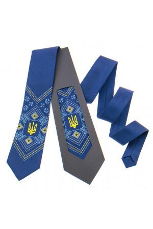 Вышитый галстук с тризубом «Ярополк»
