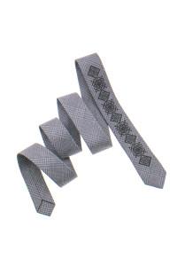 Узкий галстук «Григор» бежевого цвета