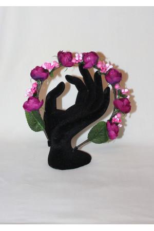 Обідок «Троянди» пурпурового кольору