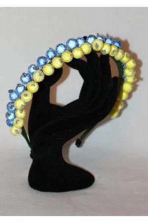 Ободок «Сине-желтая смородина»