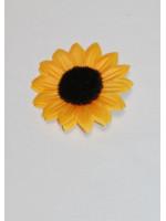 Заколка-брошка «Соняшник»